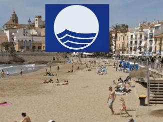 Bandera Blava a les platges de Sitges